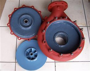 Belzona 1391 (Ceramic HT) provides excellent erosion and corrosion protection, restoring the pump