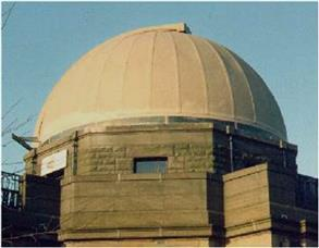 Observatory dome prior to application of Belzona 5151 (Hi-Build Cladding)